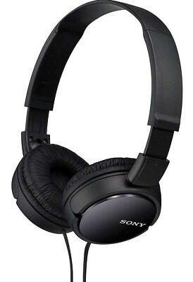 Sony MDR-ZX110 Stereo Over-Head Headphone Extra Bass Black & White Colors 2