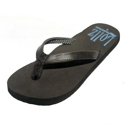 e6e9217923e ... Womens Flip Flops Sandal Shoes Arch Support Pink Black Brown SIZE 6 7 8  9 10