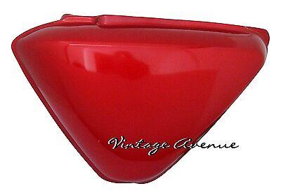 /' 72 CB125S CB100 K0 K1 Side Frame Battery Cover Red Pair HONDA CB125 S 1971