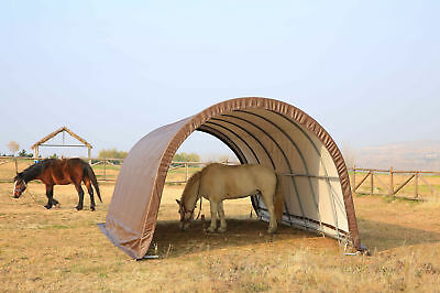 Livestock Shelter Sheds Farm Storage Building Horse Sheep Portable Field Shelter 2