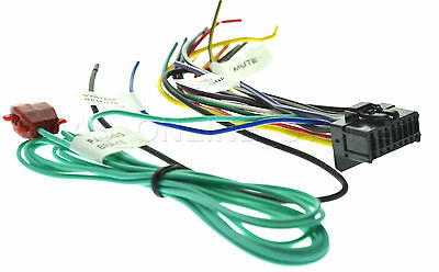 WIRE HARNESS FOR Pioneer Avh-P4300Dvd Avhp4300Dvd *pay Today Ships on