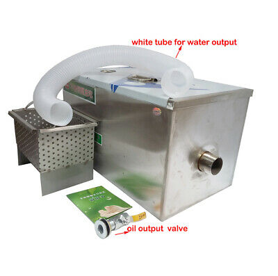 Newly Commercial Grease Traps Kitchen Waste Filter Stainless Steel 2