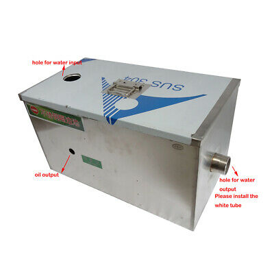 Newly Commercial Grease Traps Kitchen Waste Filter Stainless Steel 3