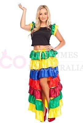 SENORITA WIG Spanish Flamenco Mexican Dance Cosplay Hair Costume Accessory b36