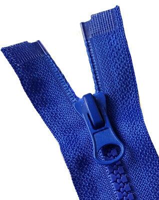 Reißverschluss grob 5mm teilbar - Kunststoff 20 25 30 35 40 50 60 70 cm - Zipper 2