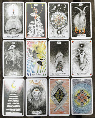 The Wild Unknown Tarot Deck Rider-Waite 78pcs Oracle Set Fortune Telling Cards & 2
