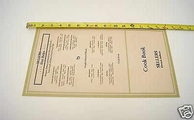 Sellers  Cabinet Door Chart Set 6