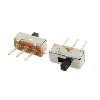 20PCS 3Pin SS12D00G3 2 Position SPDT 1P2T PCB Panel Mini Vertical Slide Switch 4