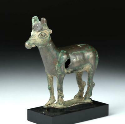 Greek Hellenistic Bronze Goat Figurine Lot 26D