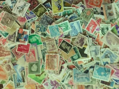 [Lot A] 100 Different Worldwide Stamp Collection - At least 50% Commemoratives! 4