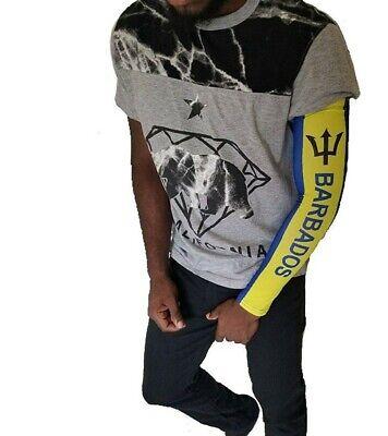 Jamaica Jamaican Arm  Sleeve Flag Mini Banner Sunblock Cooler Protective Sports