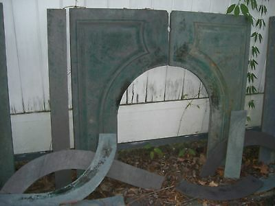 Green Slate Fireplace Mantel  Serpentine  Arts  Crafts  style  1800's 3