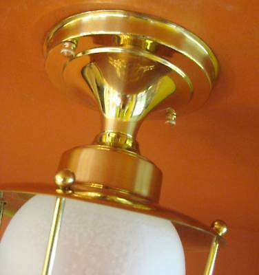 Vintage 1950s Eames Mid Century Never Used porch foyer light   More Available 2