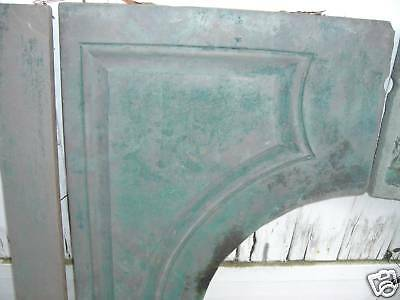 Green Slate Fireplace Mantel  Serpentine  Arts  Crafts  style  1800's 8