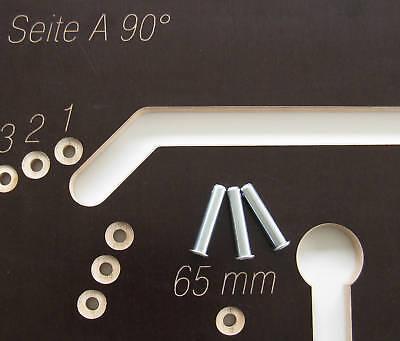 fr sschablone arbeitsplatten bis 900 mm eckverbindung inkl verbinder f r ein l eur 48 90. Black Bedroom Furniture Sets. Home Design Ideas