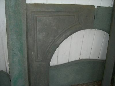Green Slate Fireplace Mantel  Serpentine  Arts  Crafts  style  1800's 11