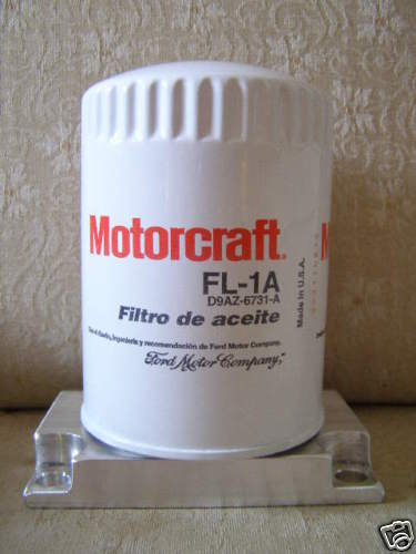 Ford 8n Tractor Oil Filter : N ford tractor spin on oil filter adapter new