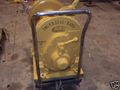 Classic Ingersoll Rand HUL 2,500lb Air Tugger, Winch