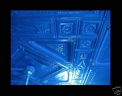SALE Victorian Art Deco Ceiling Tin Tile Aztec Fleur De Li Chic Geometric Key 5