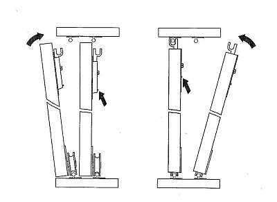schiebet rbeschlag f r 5 t ren bis 50kg eur 96 00. Black Bedroom Furniture Sets. Home Design Ideas