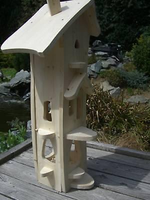 futterhaus vogelhaus nistkasten vogelvilla typ hexe g zum selbst bemalen design eur 68 90. Black Bedroom Furniture Sets. Home Design Ideas