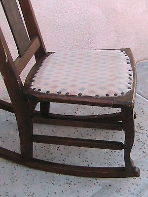 Antique Child's Rocking Chair The Philadelphia Chair Co 8
