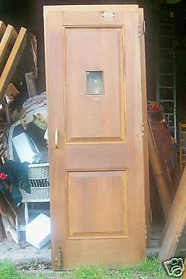 Vintage 1930's Solid Oak Doors
