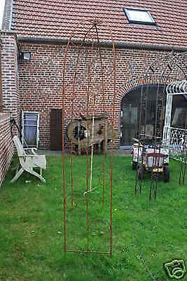 Arche de jardin en fer forge eur 125 00 picclick fr - Arche de jardin en fer forge ...