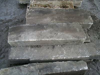 3 - 4 feet long antique stone Step   Step Treads 2