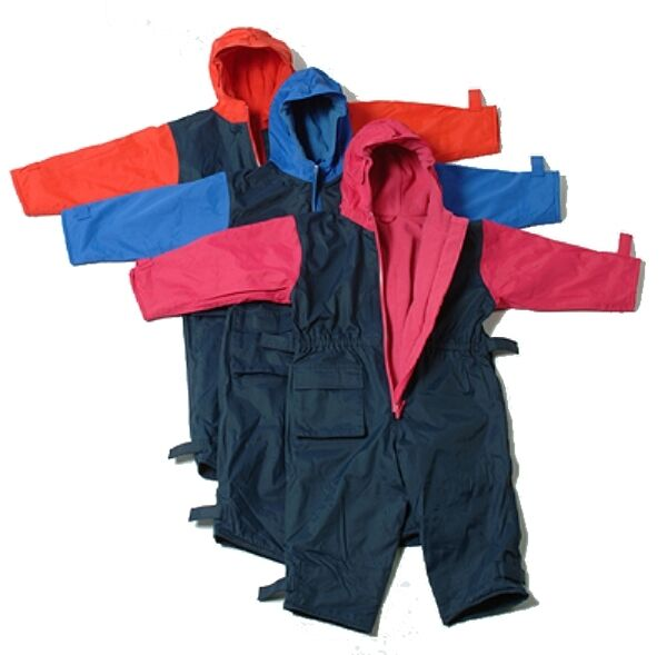 TOGZ  KIDS UNLINED  ALL IN ONE  WATERPROOF  PUDDLE SUIT RAINSUIT   9m to 6yrs