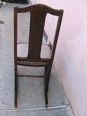 Antique Child's Rocking Chair The Philadelphia Chair Co 7