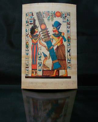 Ancient Egyptian Papyrus Wonderfully Handmade Colorful Piece Superior Quality -G 3