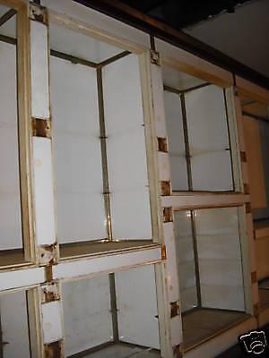 Great Backbar and Counter/mahogany and milk glass 6