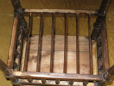 Victorian Oak Piano Stool 4