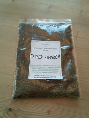 CATNIP 60g  Canadian - Purr-fect for Cat Toys !!! 2