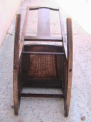 Antique Child's Rocking Chair The Philadelphia Chair Co 9