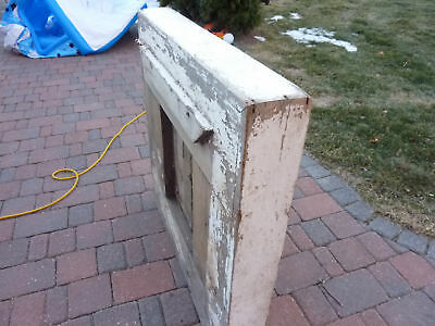 "c1830 LARGE doric column capital blocks 36"" sq x 5"" 5"