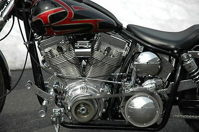 Bdl 2 Quot Shorty Open Belt Drive Primary Kit 1970 1978 Harley