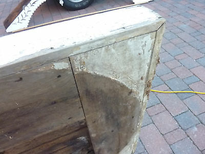 "c1830 LARGE doric column capital blocks 36"" sq x 5"" 8"