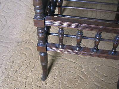 Victorian Oak Piano Stool 3