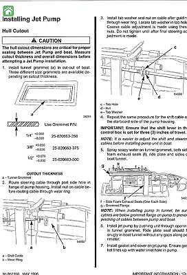 sport jet 95xr 120xr service manual jazz sportjet mercury email rh picclick com Mercury Wi-Fi ManualsOnline 1963 Mercury Comet