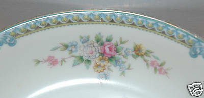 Noritake Fine China Oval Vegetable Bowl Avon Pattern 2