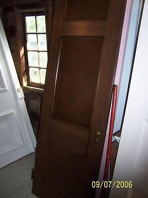 Antique Vintage 3 Panel Door