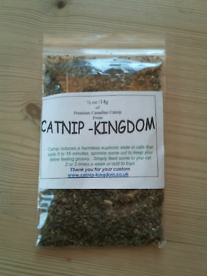 CATNIP -1/2oz-14g- You won't buy stronger !! 2 • EUR 2,51