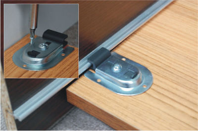 schiebet r selbstbausatz f r schrankt ren 3 x 25 kg inkl schienen eur 43 04 picclick de. Black Bedroom Furniture Sets. Home Design Ideas