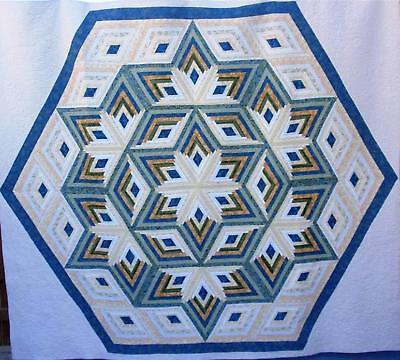 Diamond Star Log Cabin Patterns 96