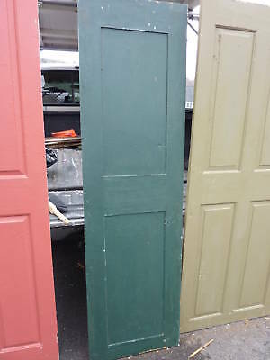 "18th century 2 panel door raised panels 22 x 77.5"" 6"