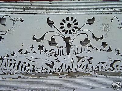 """AWESOME VICTORIAN gingerbread house fascia board 84x30"""""""