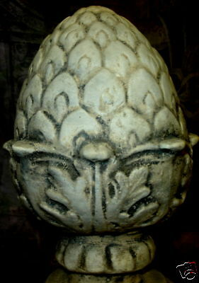 "Artichoke Finial 13"" Decorative Home and Garden Accent"