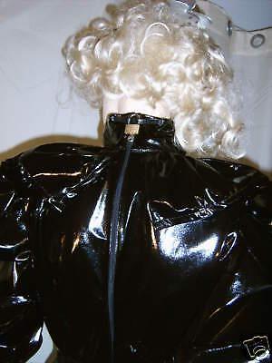 Lackkleid,Godetkleid,lang,Crossdresser,Fetisch, Diva,Maiddress,Godetdress Vinyl 10
